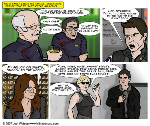 K Smith: Battlestar Galactica - kevin-smith Fan Art