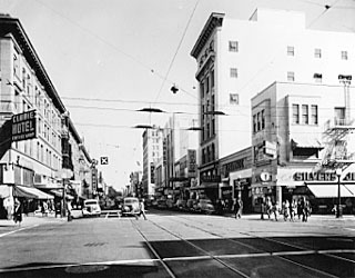 K St. of the 1940s