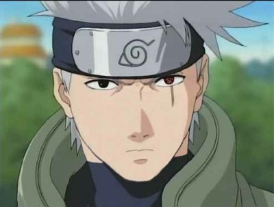 KAKASHIS FACE - naruto Photo