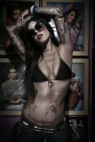Kat Von D - kat-von-d Photo