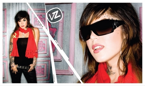 Kat for Von Zipper - kat-von-d Photo