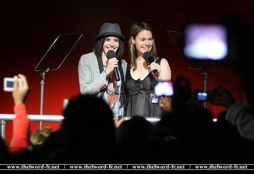 Kate and Leisha
