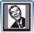 Kenneth Williams coaster - carry-on-movies fan art