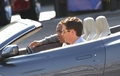 Kevin Connolly & Bow Wow on the Entourage Set