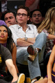 Kevin Connolly and Jennifer Meyer take in the Lakers vs Jazz game May 4, 2008