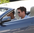 Kevin Connolly and Bow Wow on the Set of Entourage
