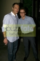 Kevin Connolly and Michael Vartan grab dinner at AGO - April 30, 2008