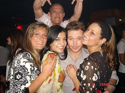 Kevin Connolly with fans