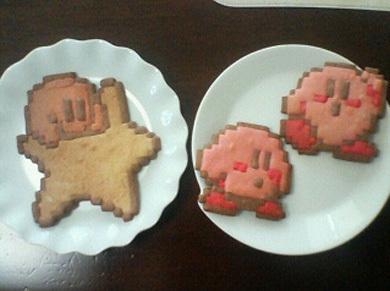 Kirby cookies, biskut