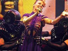Kylie in concert (Belgium)