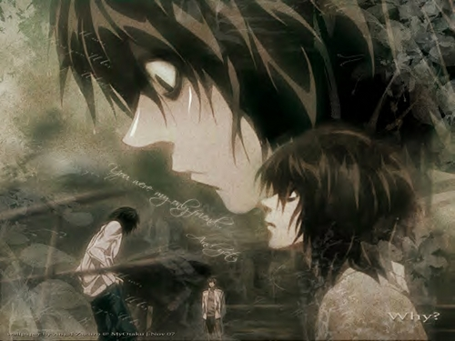 Death Note images L in the Rain HD wallpaper and background photos