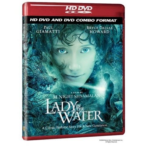 M. Night Shyamalan achtergrond probably containing a video cassette, videocassette called Lady in the Water
