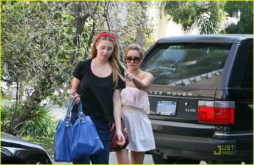Lauren & Whitney working