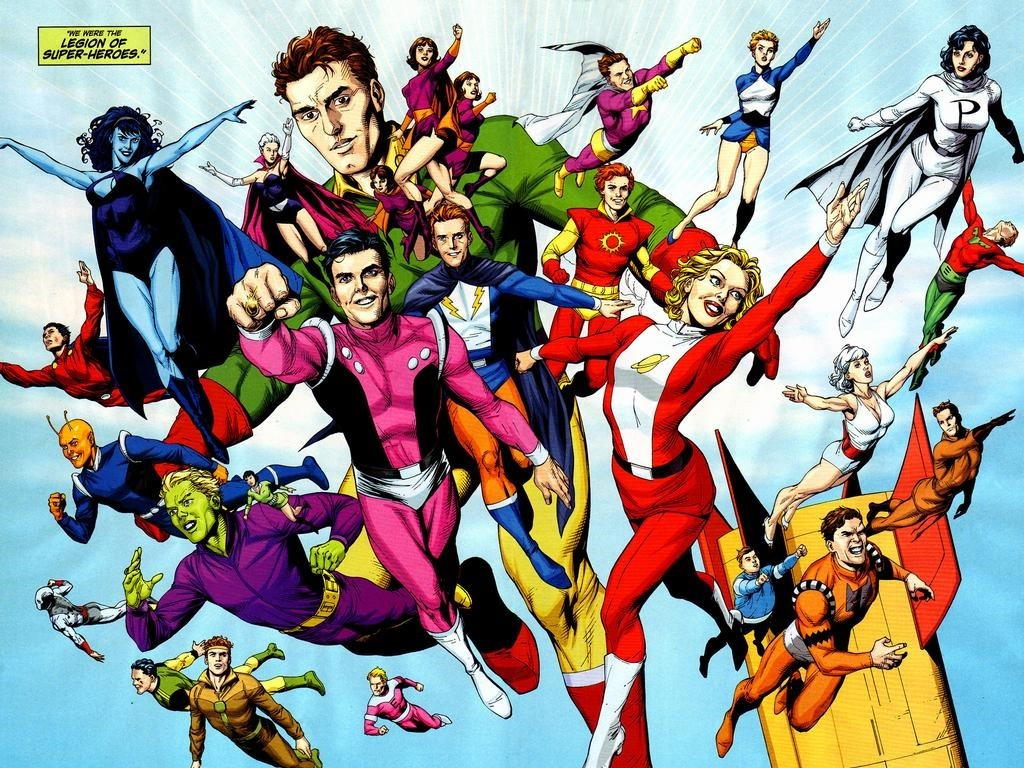 Legion Of Super Heroes in DC Comic Universe