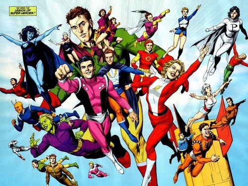 Legion of Superheroes - dc-comics Wallpaper