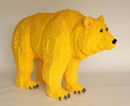 Lego chịu, gấu