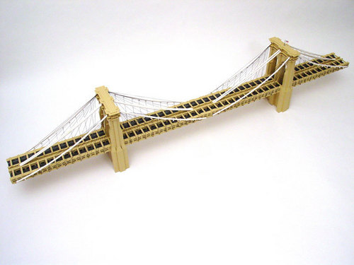 Lego Brooklyn Bridge - lego Photo