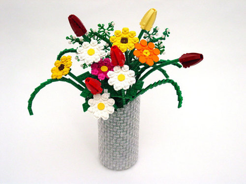 Lego Flowers - lego Photo