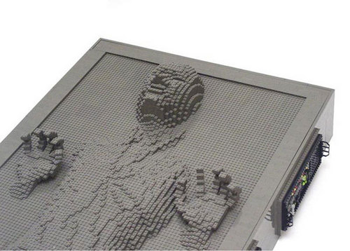 Lego Han Solo in Carbonite