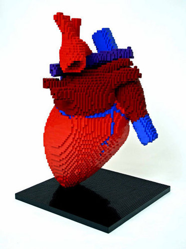 Lego hati, tengah-tengah