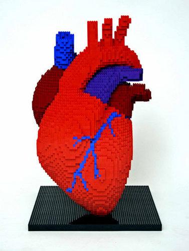 Lego hart-, hart