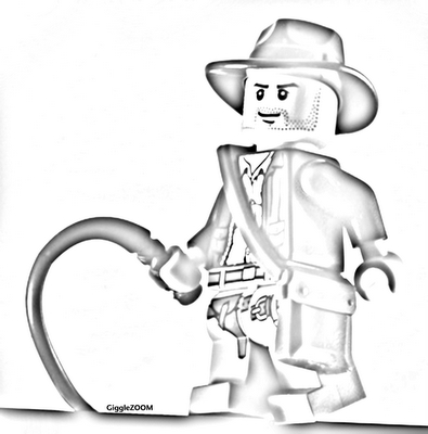 Lego Indy to Color - Indiana Jones Fan Art (853601) - Fanpop