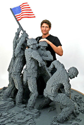 Lego Iwo Jima Memorial