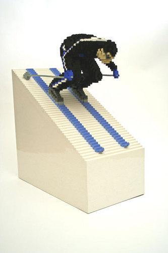 Lego Skier