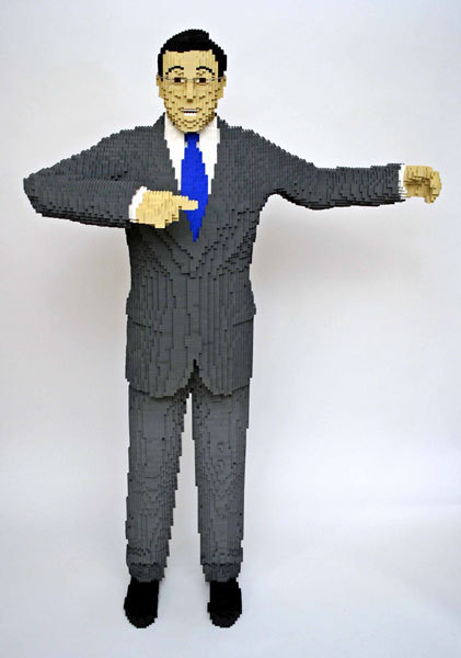 Lego Stephen Colbert - lego photo