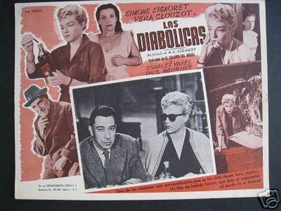 Les Diaboliques poster