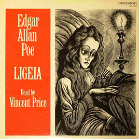 Vincent Price fond d'écran with animé called Ligeia LP