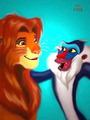 Lion King peminat Art