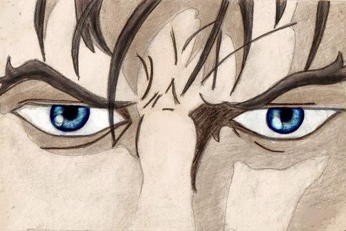 Logan's eyes