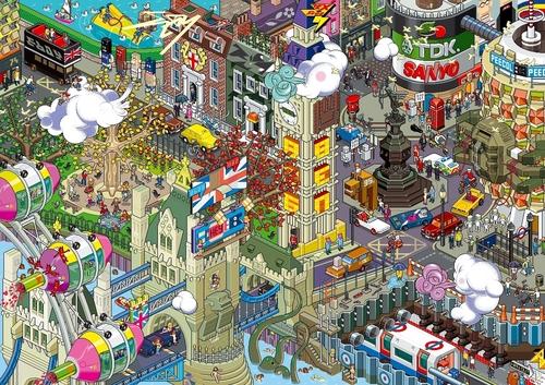 ロンドン Art