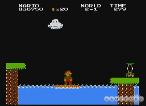Super Mario Bros. wallpaper probably containing a sign called Lost Levels