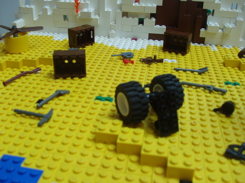 Lost-the Beach-Lego