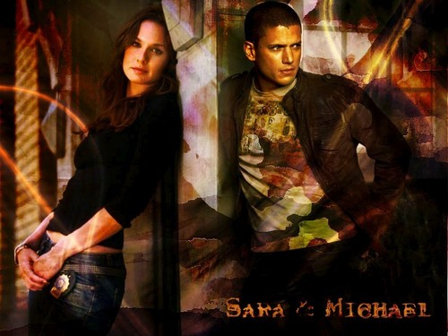 Michael and Sara wallpaper called Amore of Prison Break