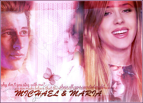 Michael & Maria wallpaper entitled M&M