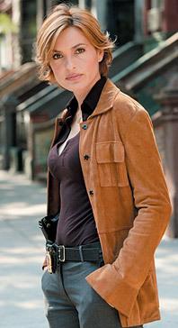 MH as Olivia Benson