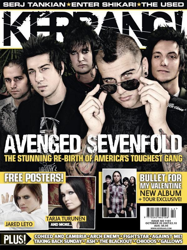 Avenged Sevenfold Images Magazine Cover Hd Wallpaper And Background