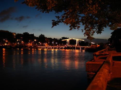 Magere Brug Bridge - Amsterdam