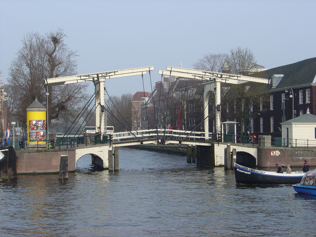 Amsterdam images magere brug bridge hd wallpaper and for Design bridge amsterdam