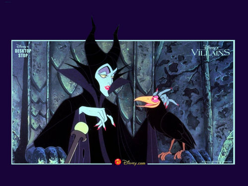 Disney-Bösewichte Hintergrund probably containing an academic kleid entitled Maleficent Hintergrund