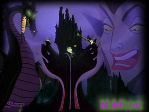 cattivi Disney wallpaper called Maleficent