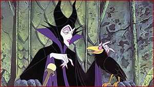 Disney Villains karatasi la kupamba ukuta entitled Maleficent