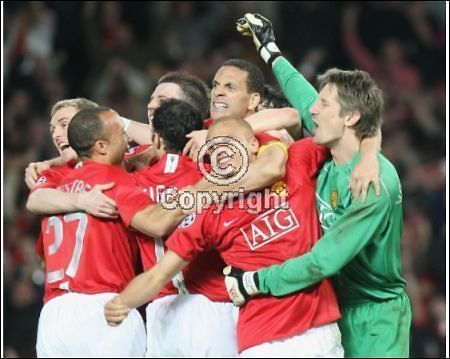 Man U are Heading To Moscow!