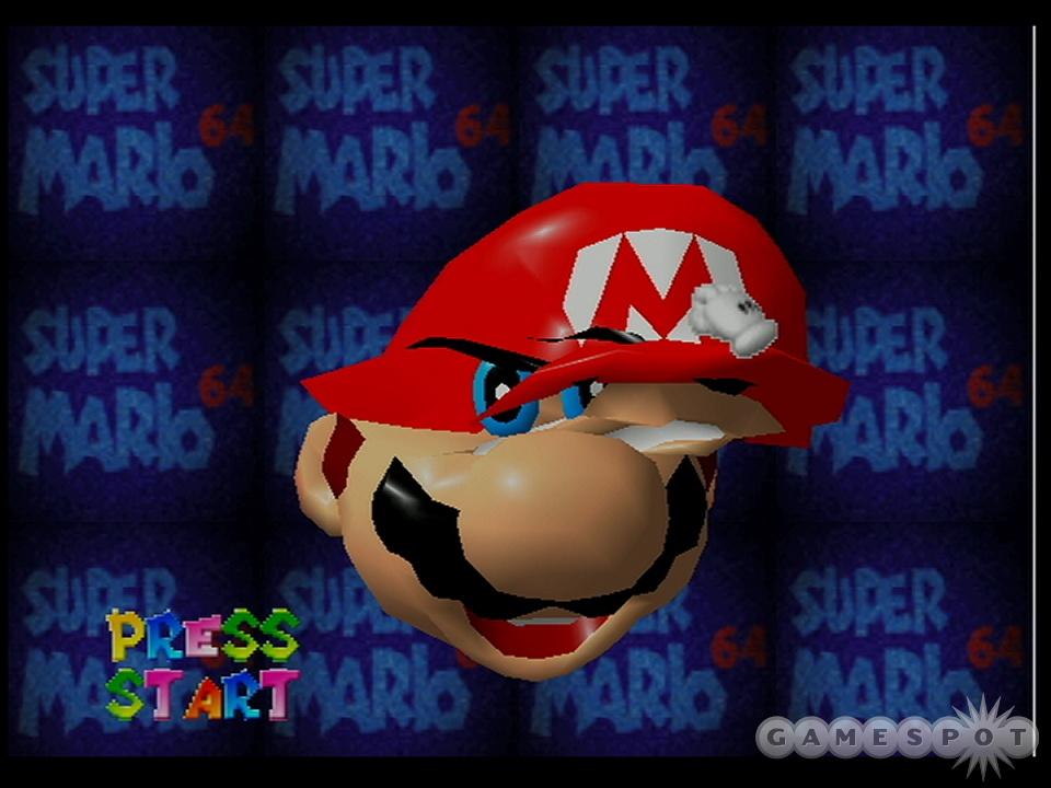 Mario Face Distortion