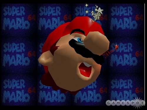 Mario Face Distortion
