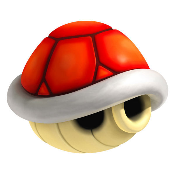 Yellow turtle mario