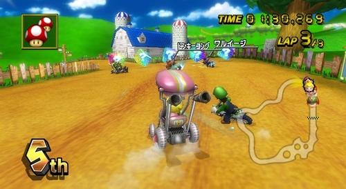 Mario Kart Wii Screens